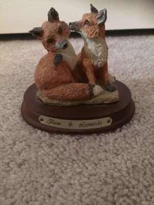 Antique fox statue from England for Sale in Tacoma, WA