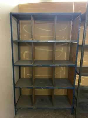 Steel commercial shelf shelving Garage Shop for Sale in Addison, IL