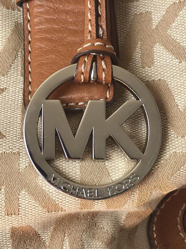Michael Kors logo tote bag