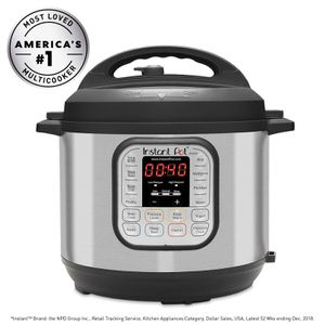 Instant Pot DUO60 6 Qt 7-in-1 Multi-Use Programmable Pressure Cooker, Slow Cooker, Rice Cooker, Steamer, Sauté, Yogurt Maker and Warmer for Sale in Las Vegas, NV