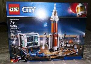 LEGO CITY (60228) DEEP SPACE ROCKET LAUNCHER CONTROL for Sale in Sacramento, CA