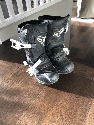 Kids dirt bike riding boots for Sale in Everett, WA