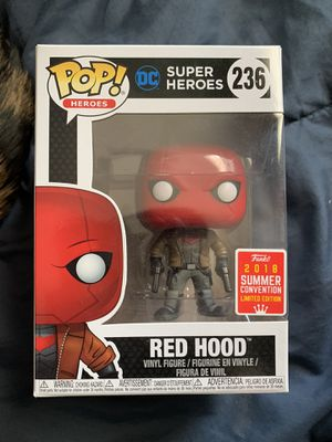 Red Hood FUNKO Pop Summer Convention for Sale in March Air Reserve Base, CA