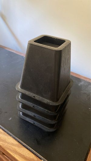 Black Plastic Bed Risers for Sale in Ithaca, NY