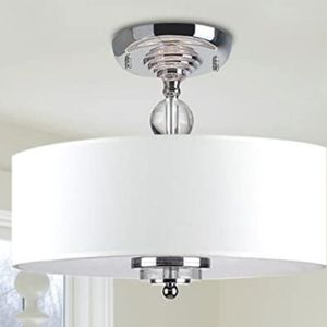 Chandelier Lighting Flush Mount LED Ceiling Light Fixture Pendant Lamp for Dining Room Bathroom Bedroom Livingroom Height 30cm x Width 40cm for Sale in Ontario, CA