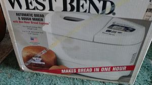 West bend auto bread and dough maker for Sale in Burleson, TX