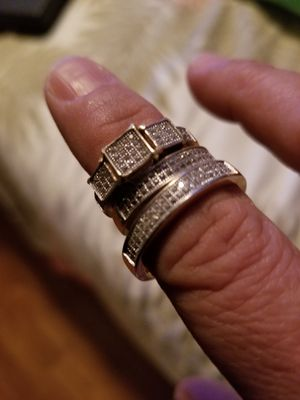 14k gold wedding rings for Sale in Weston, MA