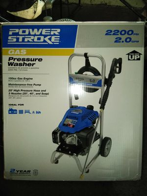 Brand new 2200 PSI powerstroke pressure washer for Sale in Baltimore, MD