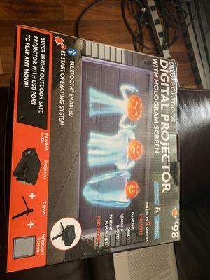 Halloween digital projector for Sale in Lyons, IL