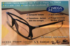 Glasses, sunglasses and contact lenses for Sale in El Paso, TX