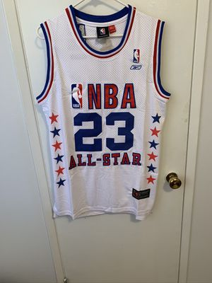 Michael Jordan #23 white 2003 NBA all star game jersey for Sale in Sylmar, CA