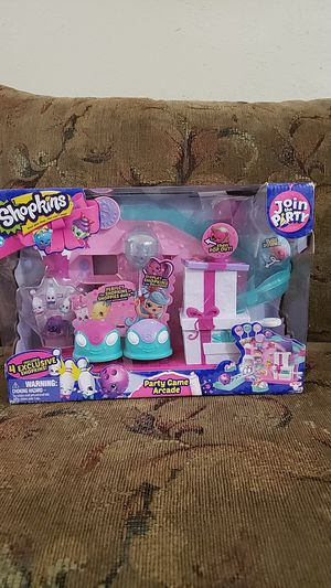 Shopkins Party Game Arcade. New, FIRM PRICE for Sale in DW GDNS, TX