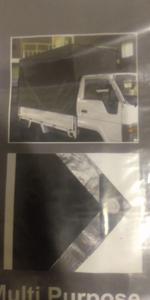 6x8ft. Black and grey tarps new $5.00 for Sale in Los Angeles, CA