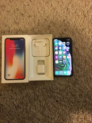 iPhone X 64gb factory unlocked for all carriers /trade for iPhone XS Max for Sale in Sanger, CA