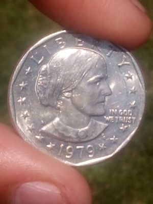 Susan b Anthony 1979 whide rim coin for Sale in Brownstown Charter Township, MI
