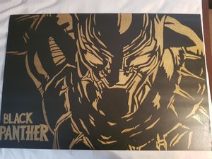Black Panther custom painting for Sale in Oklahoma City, OK