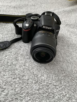Camera Nikon D3200 set for Sale in Antelope, CA