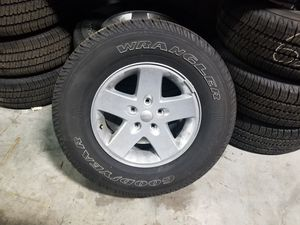Jeep wrangler wheels for Sale in Miami, FL