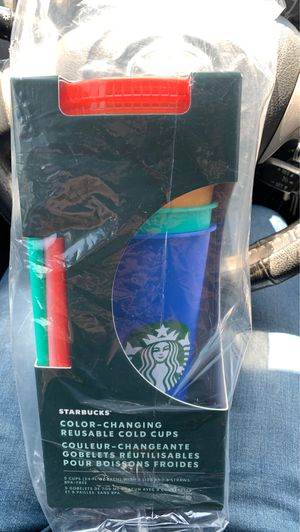 Starbucks Color Changing Cups for Sale in Jurupa Valley, CA