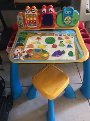 Learning activity desk, V-tech for Sale in Palmdale, CA