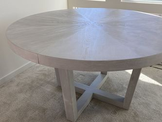 Extendable Wood Dining Table for Sale in Orange,  CA