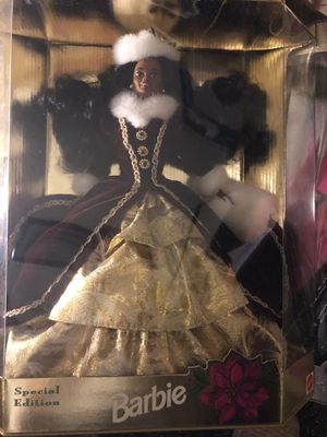 Mattel Holiday Barbie collection for Sale in Garrison, MD