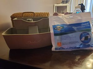 Dog filtered drinking bowl plus pack of filters for Sale in Martinsburg, WV