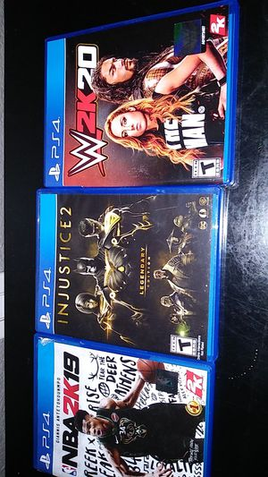 3 new bundle games ps4 for Sale in Sacramento, CA