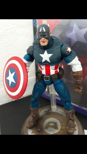 Marvel Legends toybiz captain america for Sale in San Diego, CA