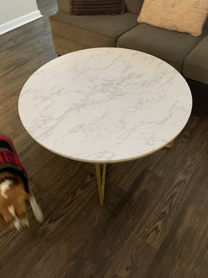 Faux marble coffee table for Sale in Murfreesboro, TN