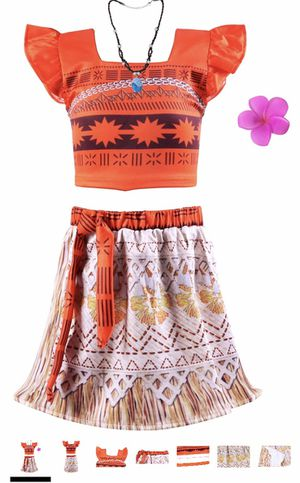 New Moana dress/costume (for 8 year old) for Sale in Kissimmee, FL
