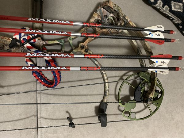 Bear Compound Bow with CBE Sniper
