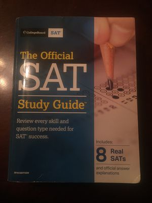 SAT study guid 2018 edition for Sale in Turlock, CA