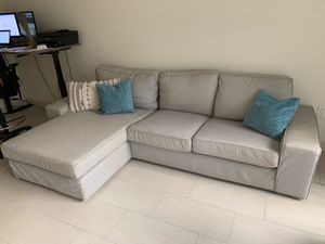 Light Grey L Shape Couch for Sale in Fort Lauderdale, FL