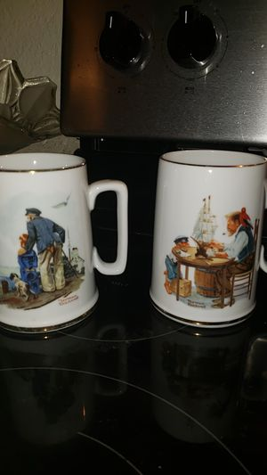 Norman rockwell mugs for Sale in Lake Wales, FL