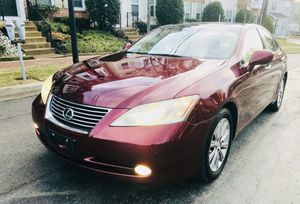 2007 Lexus ES 350 ' LOW MILES ' ONE OWNER ' PANORAMA WINDOW' Navigation ' Back up Camera ' Chrome Factory RIMS for Sale in Hyattsville, MD