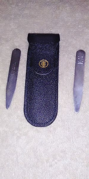 Tiffany & Co Sterling Silver Shirt Collar Stiffeners for Sale in Chester, PA