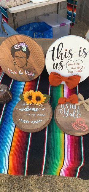Custom wood sign for Sale in Phoenix, AZ