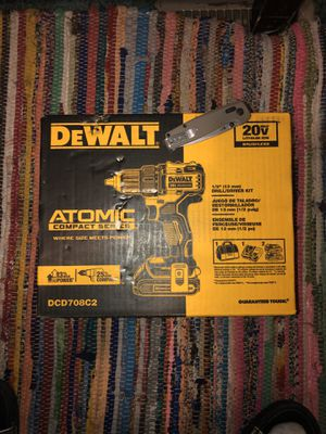 DeWalt Atomic Compact Series 20 Volt (Drill Driver, 2 batterys, battery charger and a carry bag) for Sale in Gastonia, NC