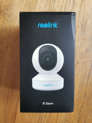 Reolink E1 Zoom Wireless Security Camera for Sale in Red Bank, NJ