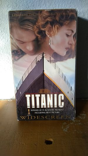 Titanic VHS for Sale in Tracy, CA
