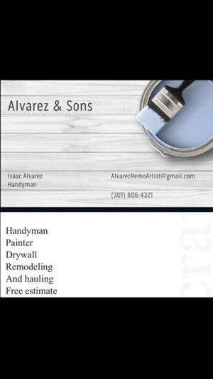 Handyman for Sale in Silver Spring, MD