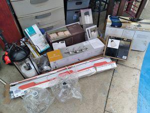 Light fixtures ceiling fan lot for Sale in San Bernardino, CA