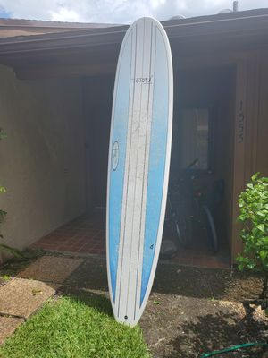 9 ft longboard suf board surfboard for Sale in Hollywood, FL