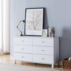NEW IN THE BOX, CLEARANCE, WHITE DRESSER, SKU#TCY5004. for Sale in Huntington Beach,  CA