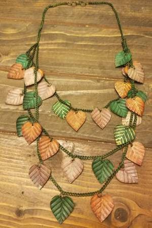Metal Leaf Necklace for Sale in Westminster, CO