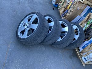 18 inch rims Mercedes Benz E350 oem for Sale in Redwood City, CA