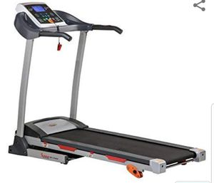 Sunny Health & Fitness Treadmill Motorized Running Machine with LCD Display, Tablet Holder, Shock Absorption, 220 LB Max Weight for Sale in Phoenix, AZ