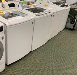 WASHERS!!! LIQUIDATION SALE!! LG MAYATAG AND MORE 9Z for Sale in Dallas, TX
