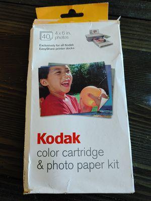 Kodak PH40 color cartridge and photo paper kit for Sale in Denver, CO